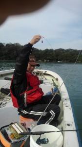 10月10日ハゼ釣りに行きました。